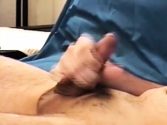 Young Amateur Mark Jerks Off