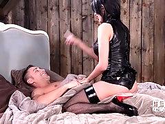 Femdom Babe Crossdresses Guy Into A Girlfriend,  Part 1