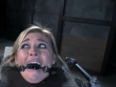 Sadistic Maniac vs Restrained Girl!