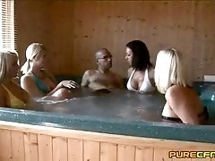 Embarrassed In The Jacuzzi