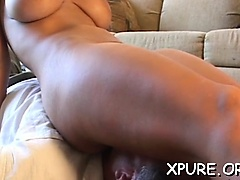 Babes completely dominating a guy by sitting on his face