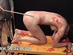 BDSM hardcore action with ropes and amazing sex