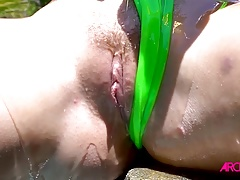 Bailey Brooke gladly takes on a cock