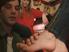 Anita & Lidia's foot boy