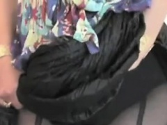 MILF in Nylon Stocking