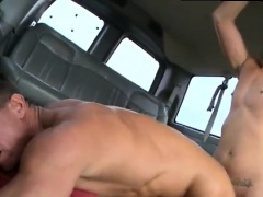 Fat gay gang bang blowjob and straight watermelon fuck first