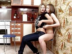 Climaxing Cuties by Sapphic Erotica  lesbian love porn with Ivanka  Ashlie