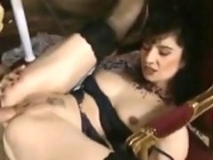 Slut In Lingerie Does Anal And Gets Cum