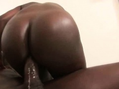 Black Girls With Massive Asses Banged Together In Foursome