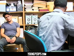 YoungPerps - Security Guard Fucks Armond Rizzo