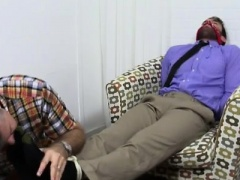 Black men with huge feet movie gay Chase LaChance Tied Up, G