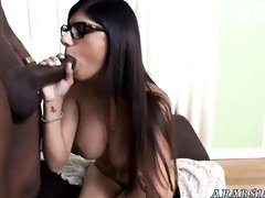 Egyptian arab sex part Mia Khalifa Tries A Big Black
