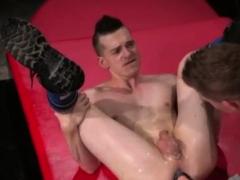 Grandpa gey gay sex movie xxx Slim piggy Axel Abysse