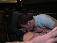 Gay porn movies twink stage Fucking In The Theater