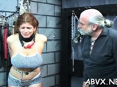 Amateur older eager bondage xxx scenes in immodest scenes