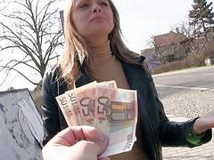 Czech babe Ivana Sugar fucked for money