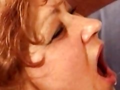 Slutty retro bitches are having great pleasure from facial cumshots