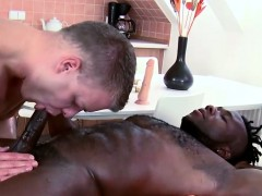 Black straighty toyed and sucked gay