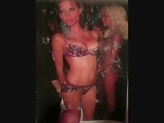 Adriana Lima cumshot tribute