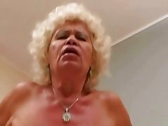 Ugly granny in hard POV action