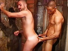 Naughty guys barebacking hard