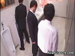 Hot and sexy asian secretary blows rigid part2