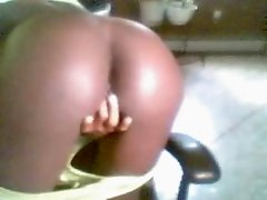my ebony girlfriend masterbating 2