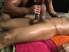 Hot massage for chap